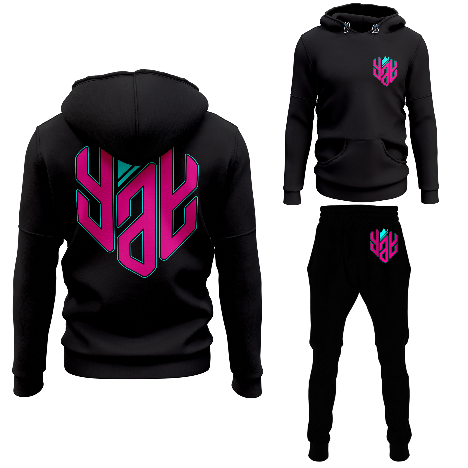 Crowned YAY Pullover Sweatsuit