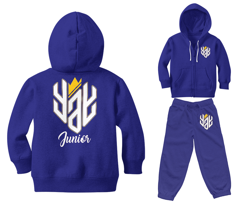 Junior New Yay Zipped Sweatsuits