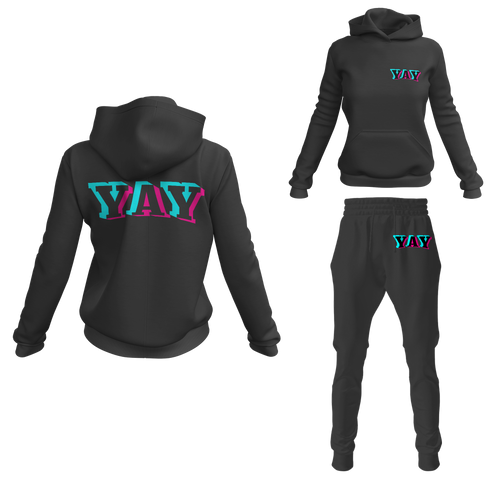 Women's Glitch Yay Pullover Sweatsuits