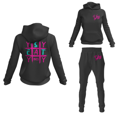 Women's Tic Tac Yay Pullover Sweatsuits