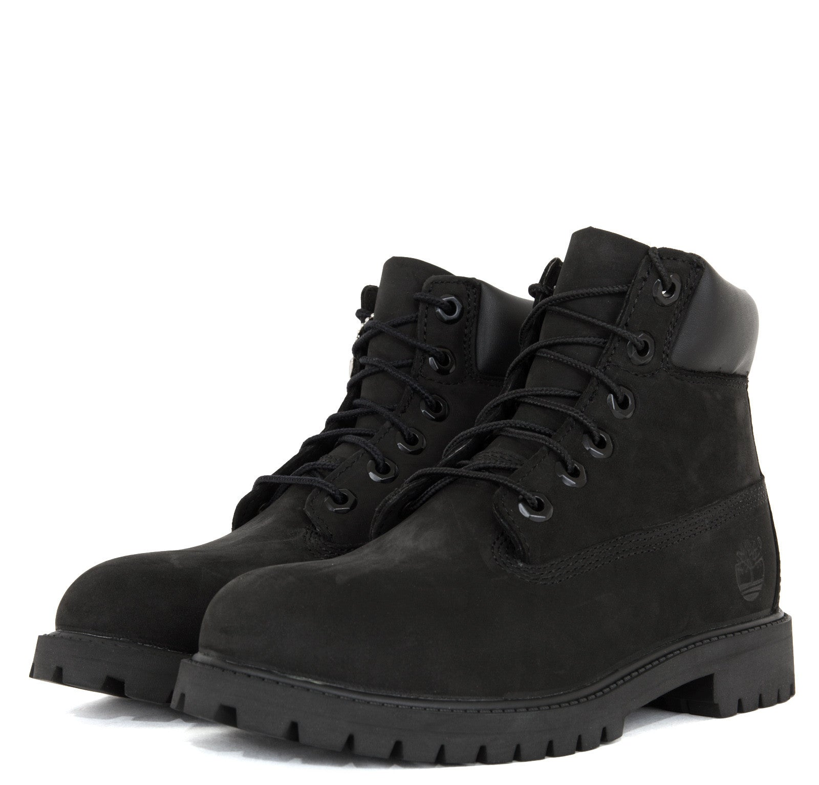 Timberland Junior 6-Inch Premium Waterproof Boots Black