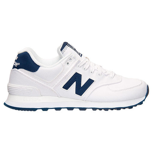 sale retailer f49f2 a79e6 New Balance Women's 574 White/Blue WL574HRW