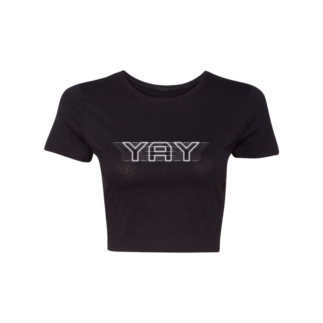Women's Yay Lights Crop Top