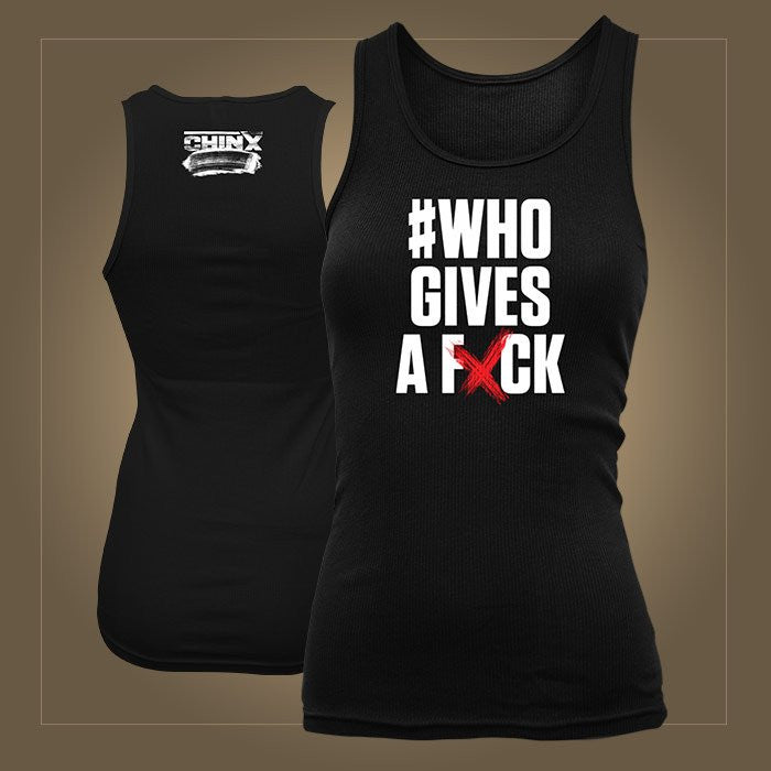 Chinx # Who Gives A Fxck Men's Tank Top