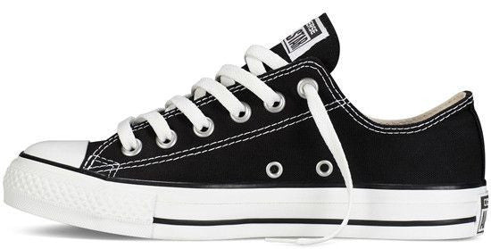 ed550915cf Converse Chuck Taylor All Star Shoes (M9166) Low top in Black – FOUR ...