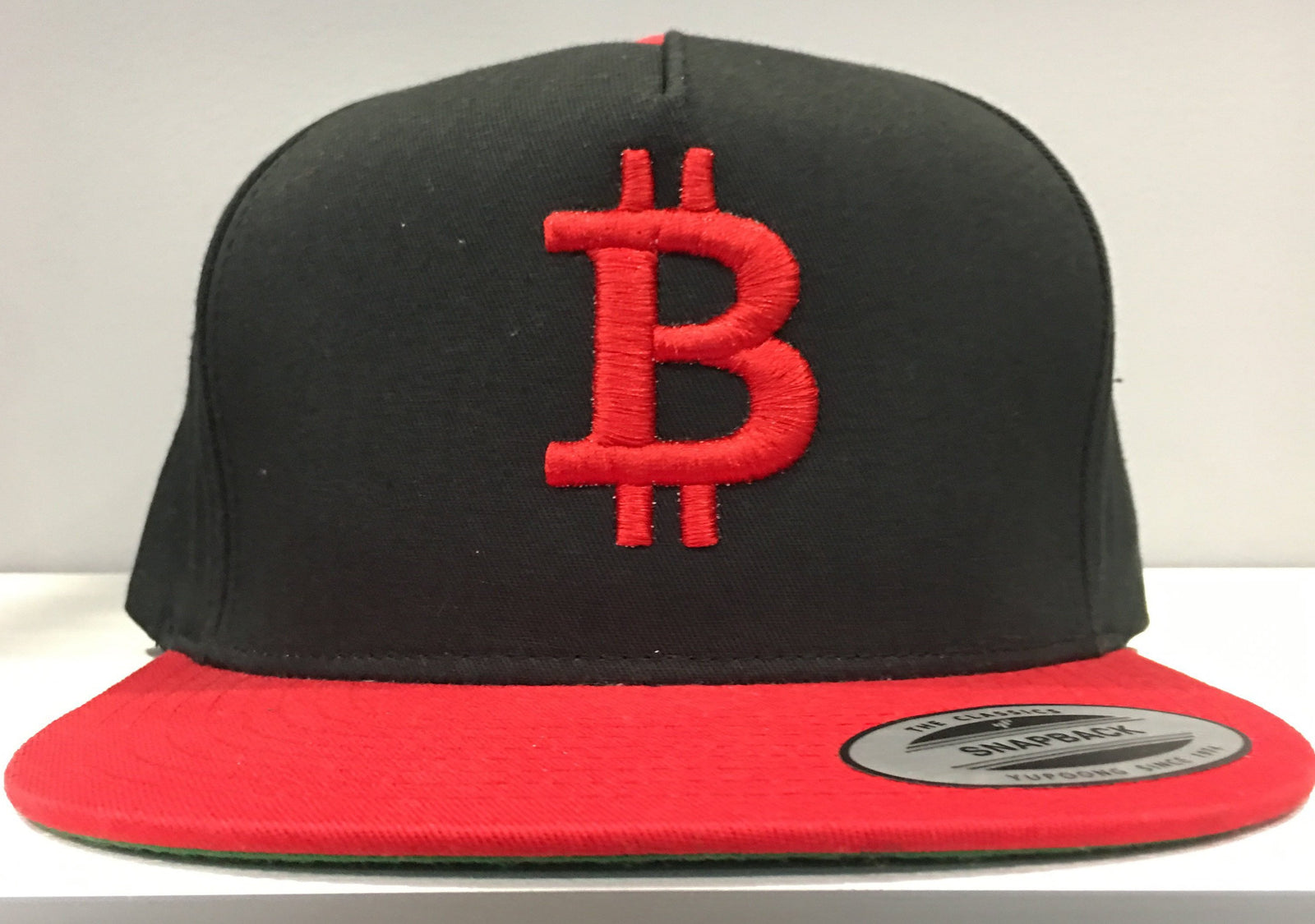 Bitcoin Snapback Hat Crypto Currency