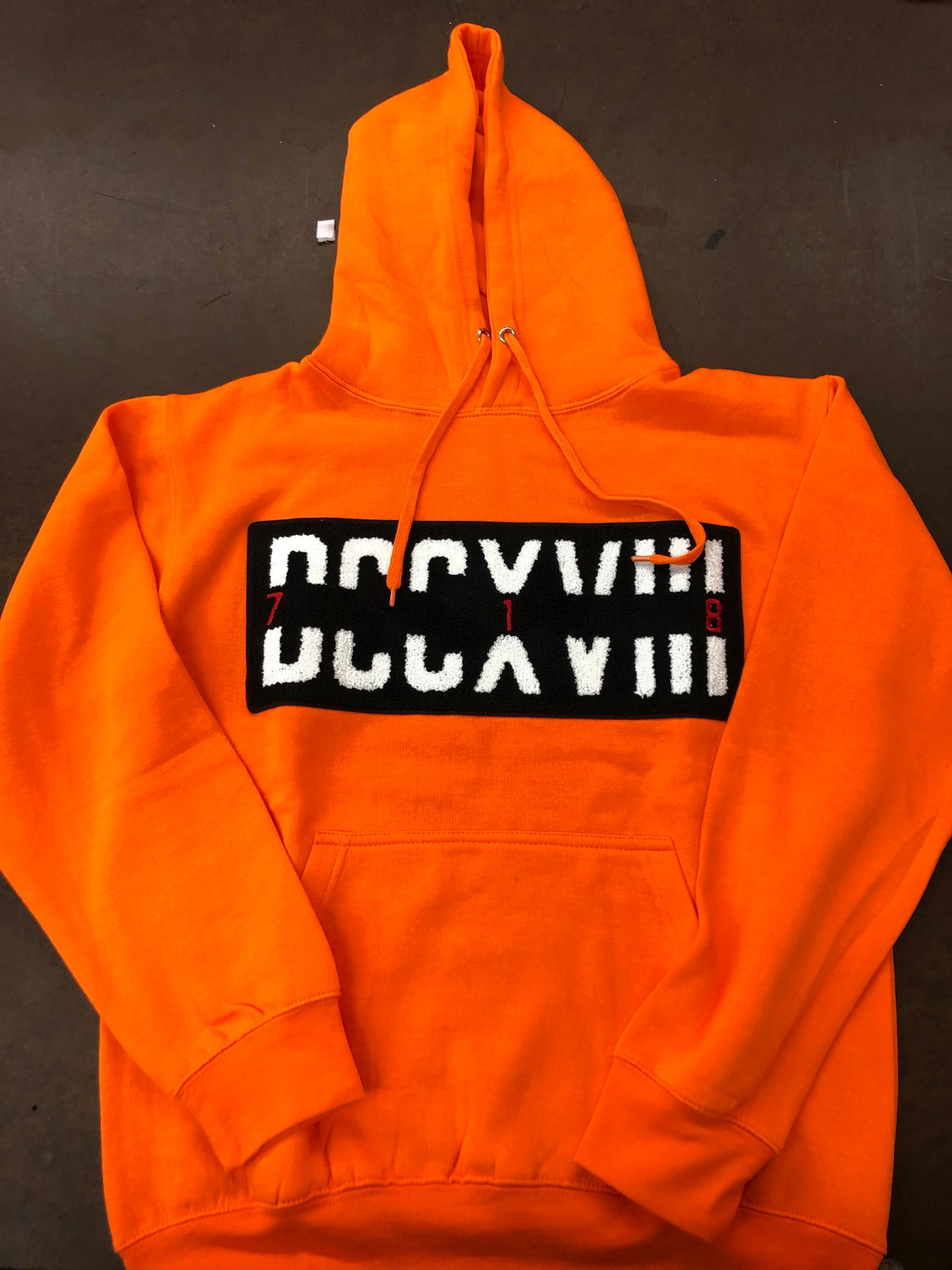 718 Hoodie with Patch