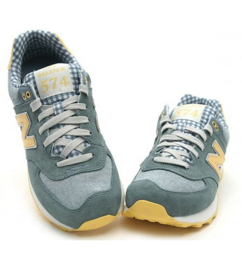 release date: 5c80c 8884a New Balance 574 (Picnic Pack) Chambray / Light Yellow ML574VTS
