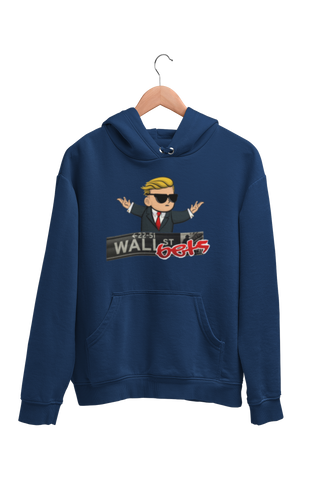 Wall Street Bets Diamond Hands Hoodie