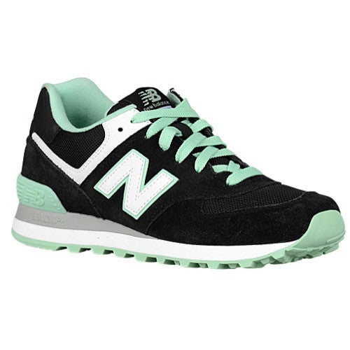 New Balance Black/Mint WL574CPC