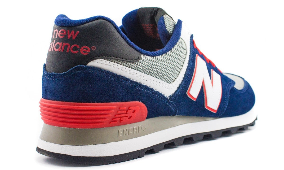 NEW BALANCE 574 – PAISLEY / BLUE / RED ML574CPM