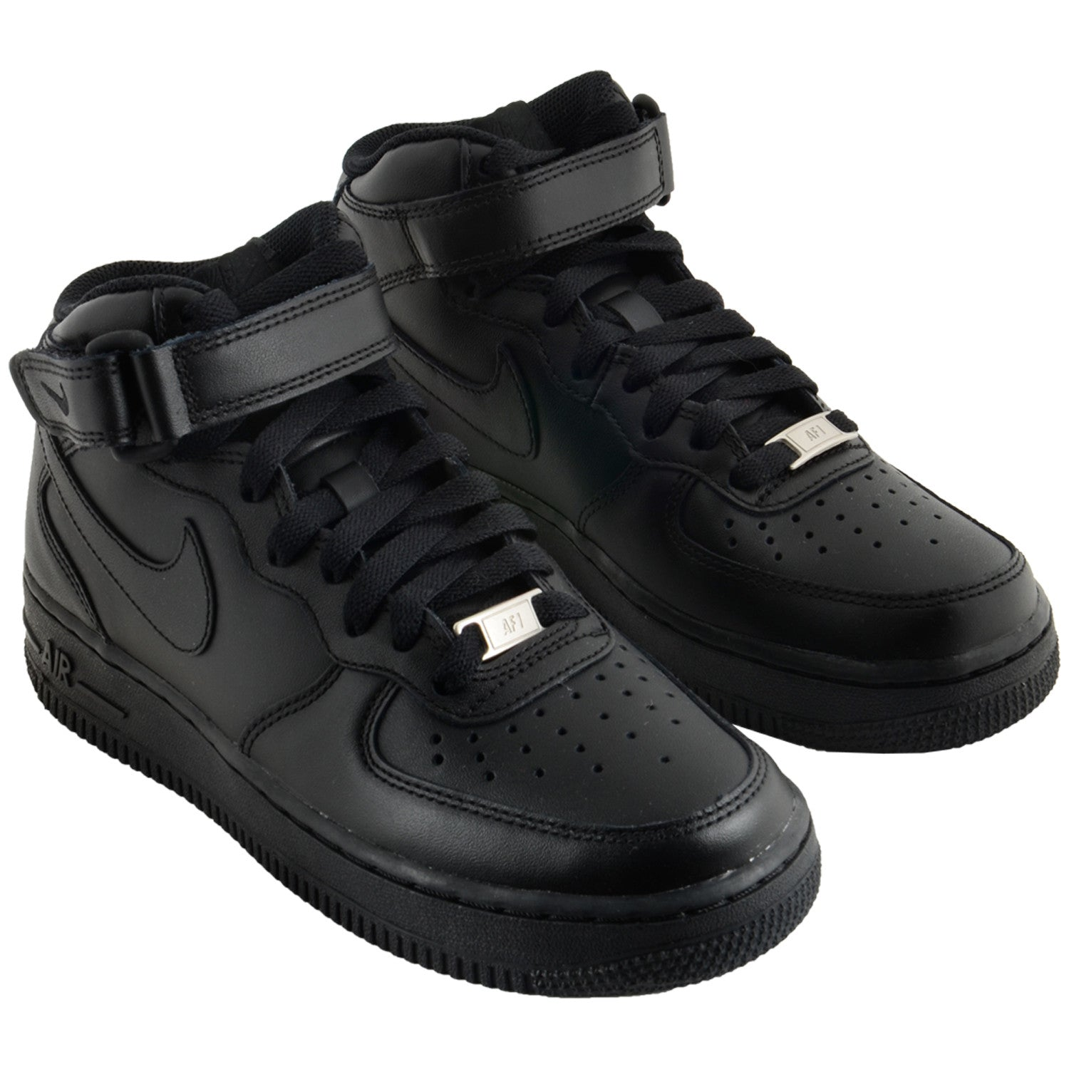 Wmn's  Black Air Force 1 Mid 07 LE 366731-001