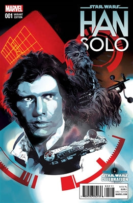 Star Wars: Han Solo # 1 Star Wars Celebration Variant Comic