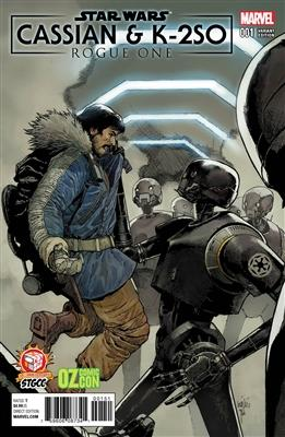 Star Wars: Cassian & K2SO #1 Variant Comic