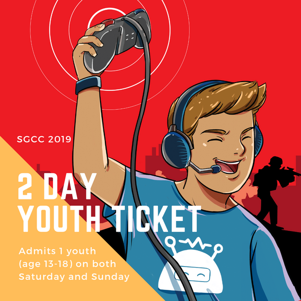 SGCC 2 Day Youth Ticket