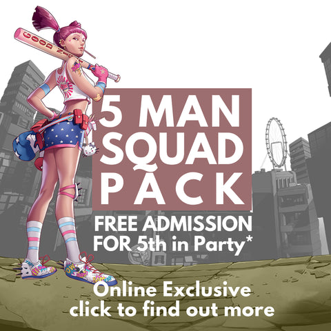 5 Man Squad Pack (Online Exclusive)