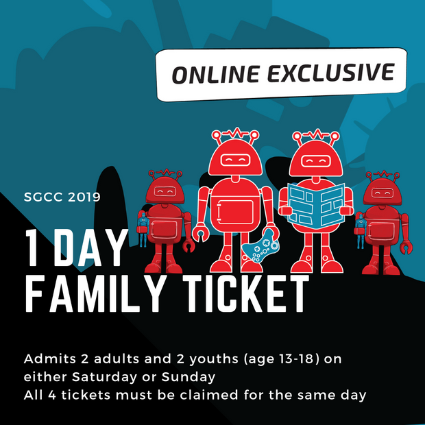 SGCC 1 Day Family Ticket