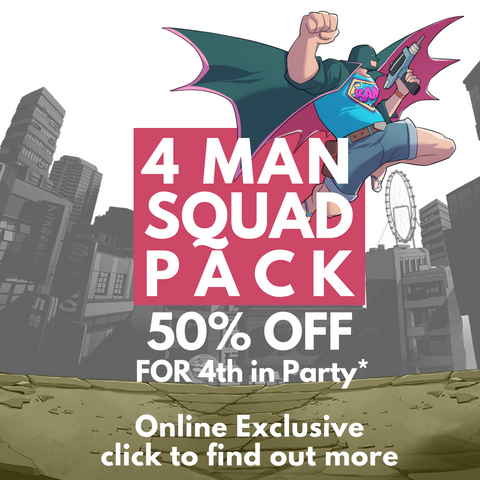 4 Man Squad Pack (Online Exclusive)