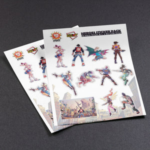 STGCC x Heroes Sticker Pack