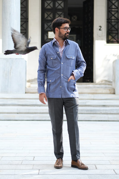 The Discrete Versatility of the Safari Overshirt