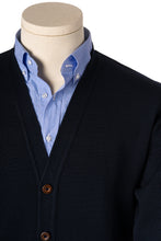 Thomas Navy Blue Cardigan
