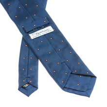 Napoli Blue Pattern Silk Tie