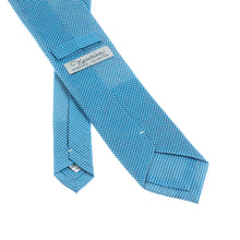 Napoli Light Blue Cotton Tie