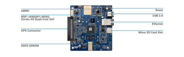 Board ARM VIA VTS-8589-QP OPS