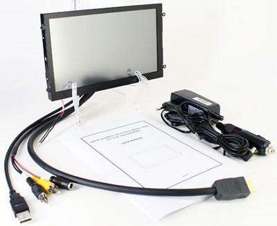 "Monitor 8"" CTFHD800-WML HDMI (TFT 16:9, Touchscreen, OPEN-FRAME, 500nits, LED-Backlight)"