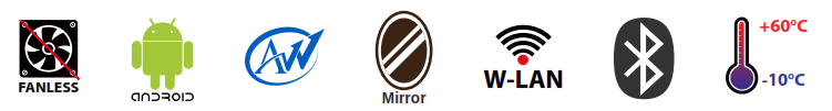 Android mirror specs