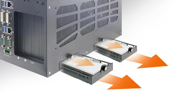neousys-easy-swap-trays-HDD-replacement