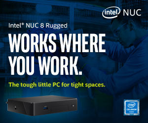 Intel® NUC 8 Rugged Kit NUC8CCHKR