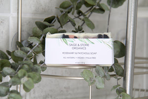 Rosemary & Patchouli Natural Soap