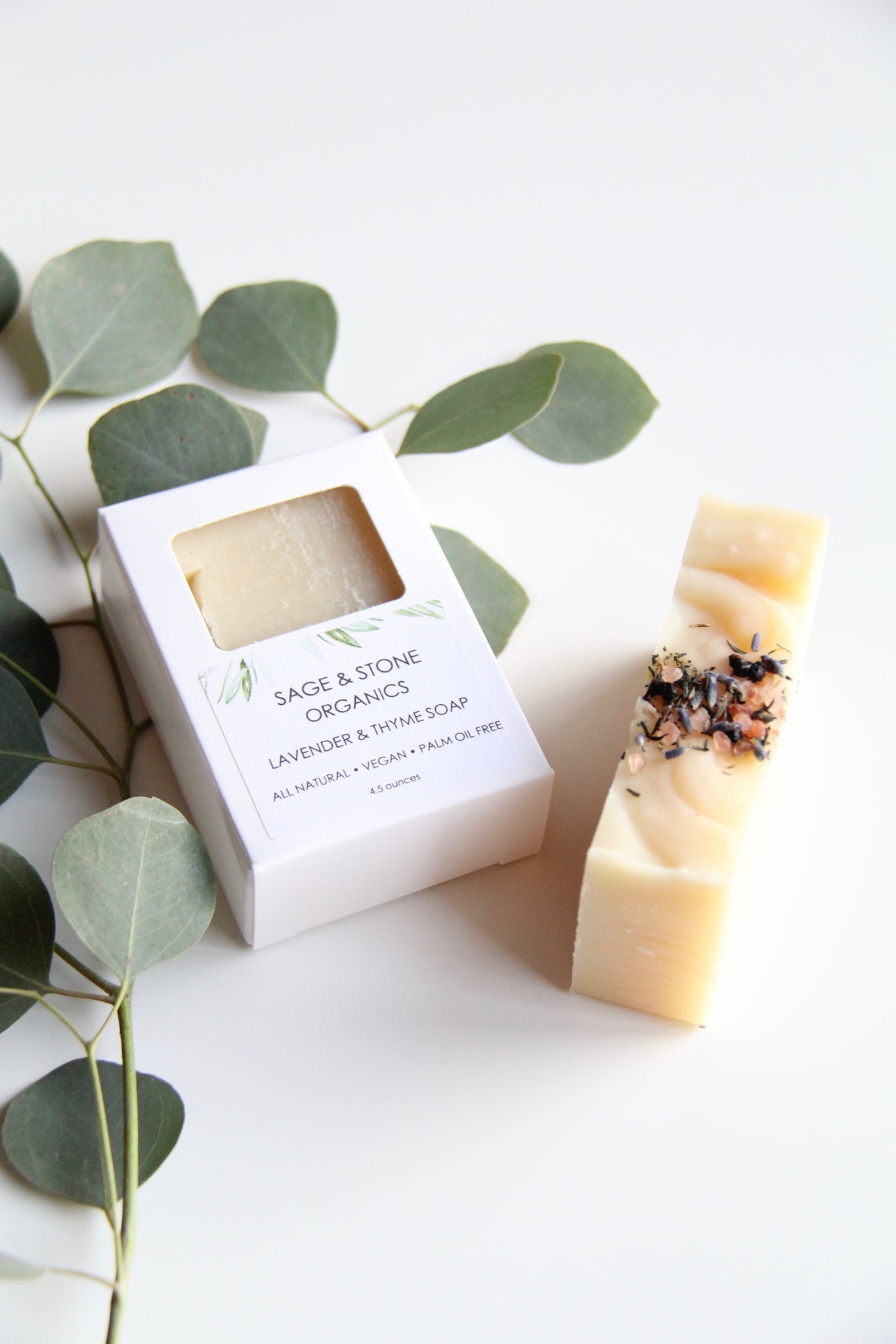 Lavender & Thyme Natural Soap