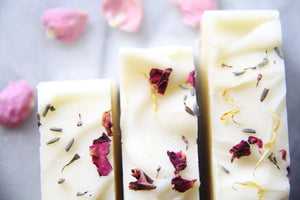 Lavender Geranium & Rose Natural Soap