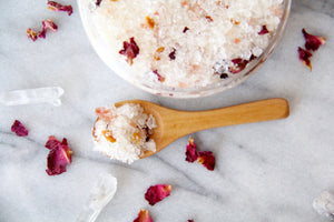 Orange Peel & Rose Hip Bath Salts