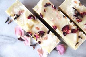 Grapefruit & Jasmine Himalayan Salt Bars | Coconut Milk & Seaweed Soap