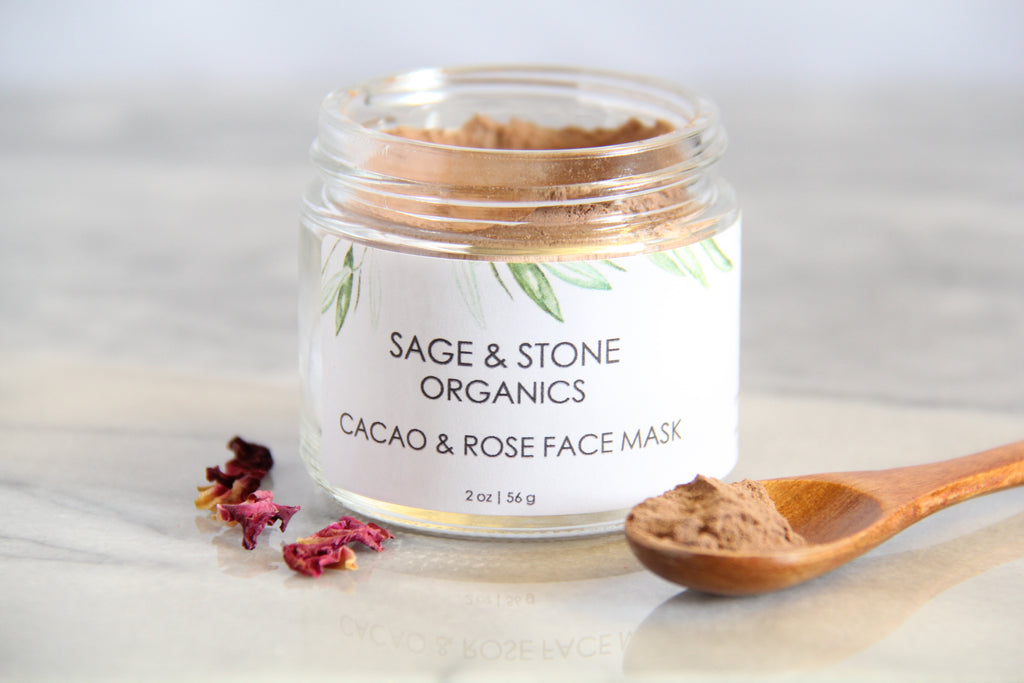 Cacao & Rose Face Mask | Antioxidant Mask