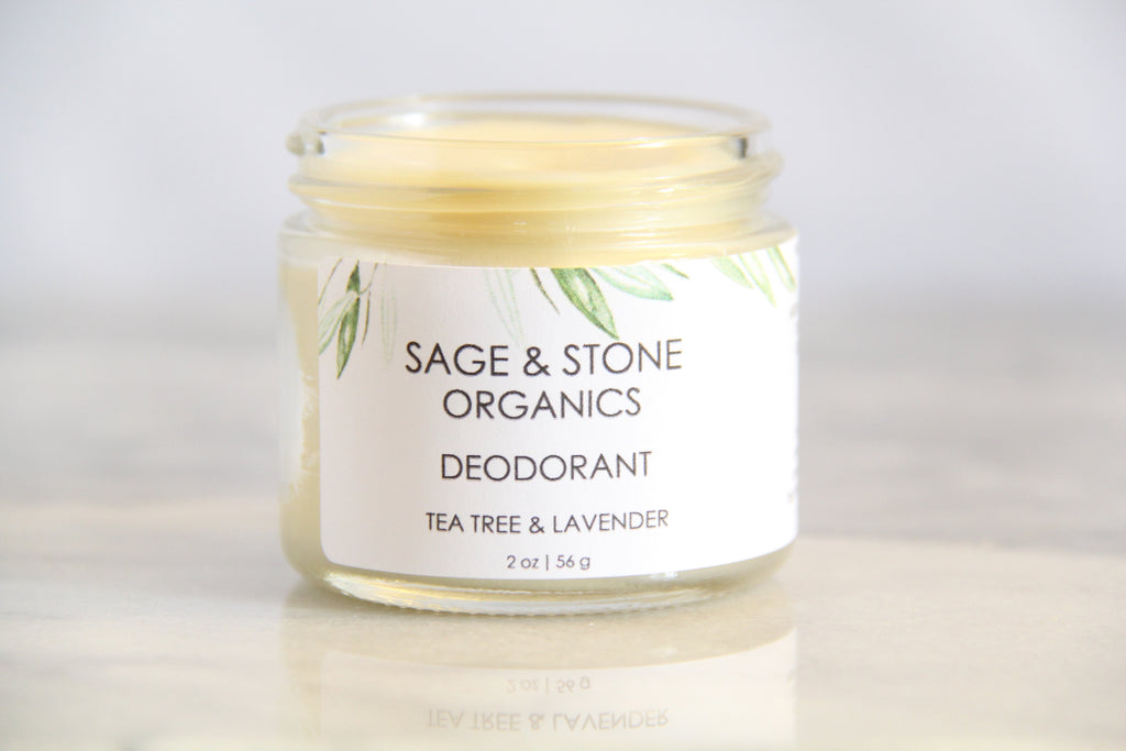 Lavender & Tea Tree Deodorant