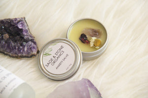 Anxiety & Stress Relief Salve | Crystal Infused