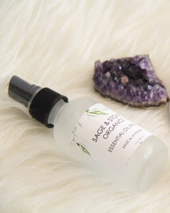 Sage & Lavender Essential Oil Spray