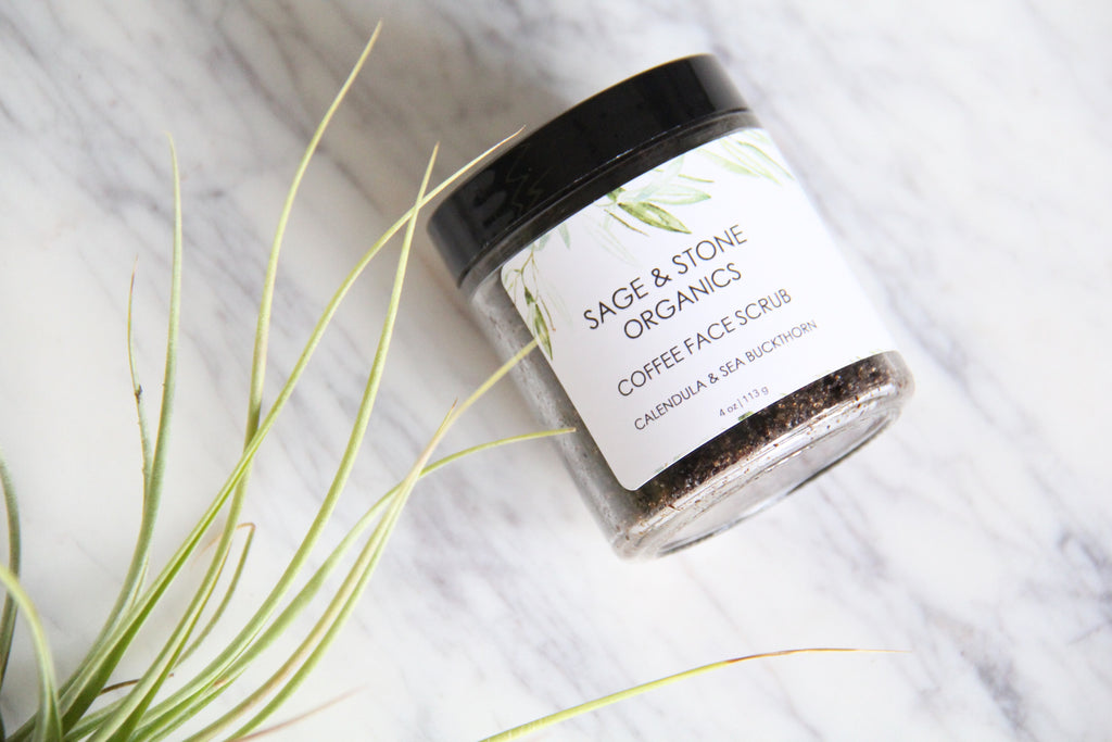 Coffee & Calendula Face Scrub