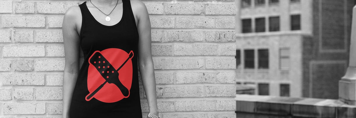 Impact play unisex tank top kinktionary