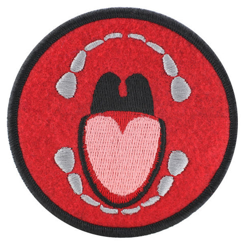 Biting Felt Patch Kinky Merit Badge