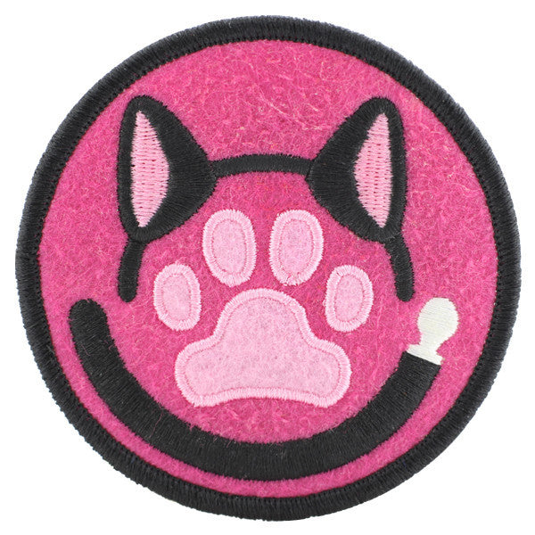 Kitty Play Felt Patch Kinky Merit Badge