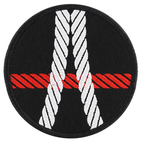 Rope Bondage Felt Patch Kinky Merit Badge