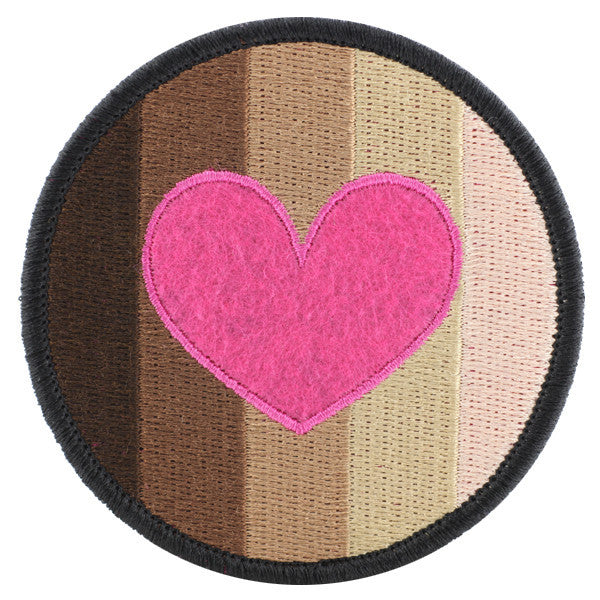 Shades Felt Patch Kinky Merit Badge
