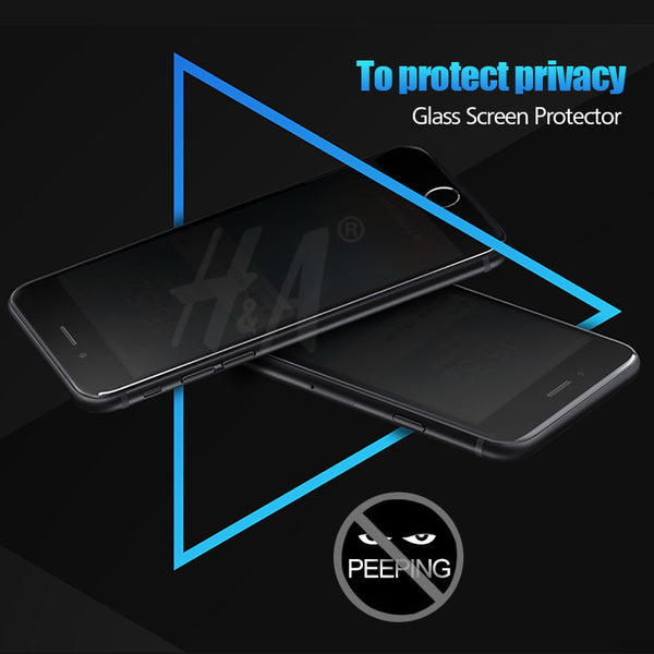 Privacy Protection Film Tempered Glass For iphone 7 7 Plus 6 6s 5 5s 6 Plus Screen Protector