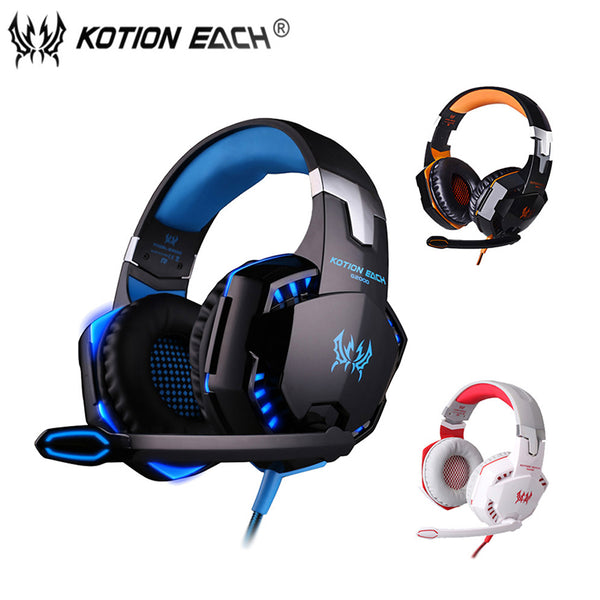 G2000 Gaming Headset wired with Microphone for computer game