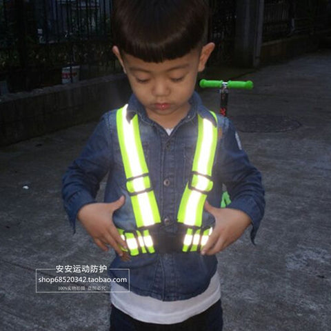 Children Visibility Warning Harness Reflective Belt
